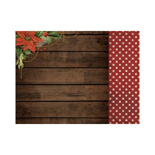 KSC Cardstock - Letters to Santa Pointsettia Garland