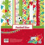 SCB Paper Pack 12x12 - Football Star