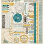 MYM Chipboard 12x12 - Lost & Found Oliver