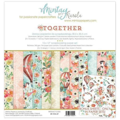 MTY Paper Pad 12x12 - Together