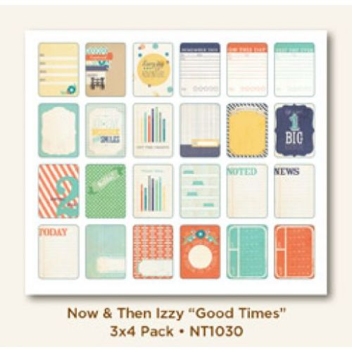 MYM Journal Cards - Now & Then Good Times 3x4