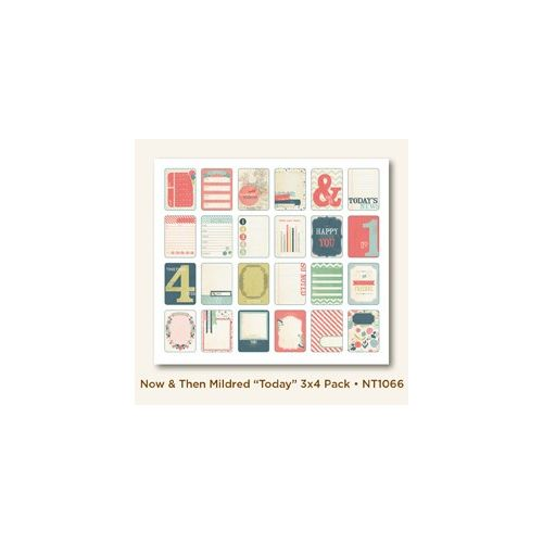MYM Journal Cards - Now & Then Today 3x4