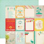 ECP Cardstock -  Summer Bliss Say hello