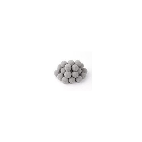 SRH Pompoms - Grau 8 mm