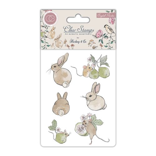 CFC Clear Stamps - English Garden