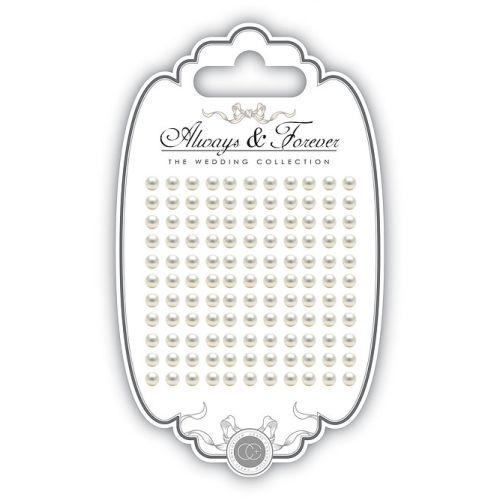 CFC Embellishments - Adhesive Pearls 5 mm