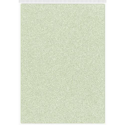 CFC A4 Glitter Cardstock - Sage
