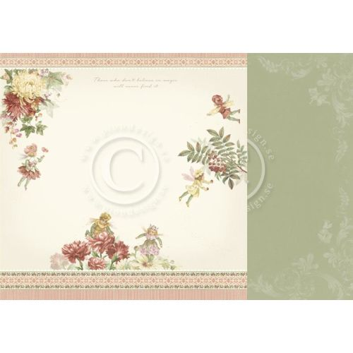 PIO Cardstock - Four Seasons of Fairies Autumn Fairies