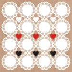 KSC Sticker 12x12 - Mix & Match Doilies