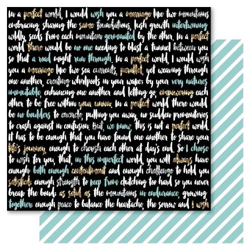 RRI Cardstock - Bella! New York Perfect World