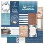 RRI Cardstock - Bella! Something Blue Cut Outs