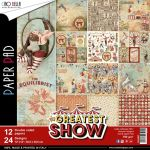 CBL Paper Pad 12x12 - The Greatest Show
