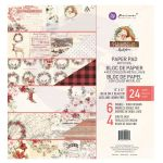 PRM Paper Pad 12x12 - Christmas in the Country