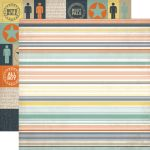 ECP Cardstock - Brothers Stripe