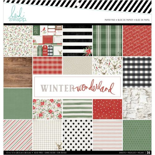 HSW Paper Pad 12x12 - Winter Wonderland