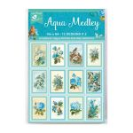 LTB Journaling Cards 4x6 - Aqua Medley