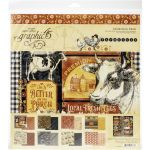 G45 Paper Pack 12x12 - Farmhouse Collection