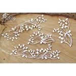 SCN Chipboard-Shapes/Laserstanzteile - Lilly of the...