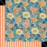 G45 Cardstock - Sun Kissed Floating Floral