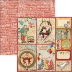 CBL Cardstock - The greatest Show Circus Cards