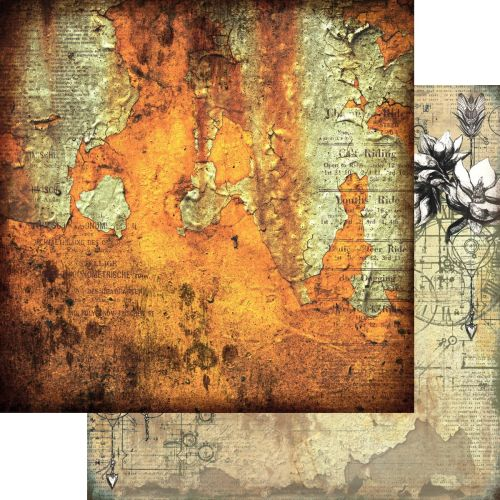 ART Paper Pack 12x12 - Grungy Walls