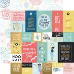 KSC Cardstock - Oh Happy Day Bright Bursts Foil