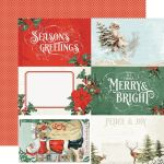 SST Cardstock - Country Christmas 4x6 Elements