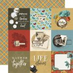 SST Cardstock - Simple Vintage Ancestry 4x4 Elements